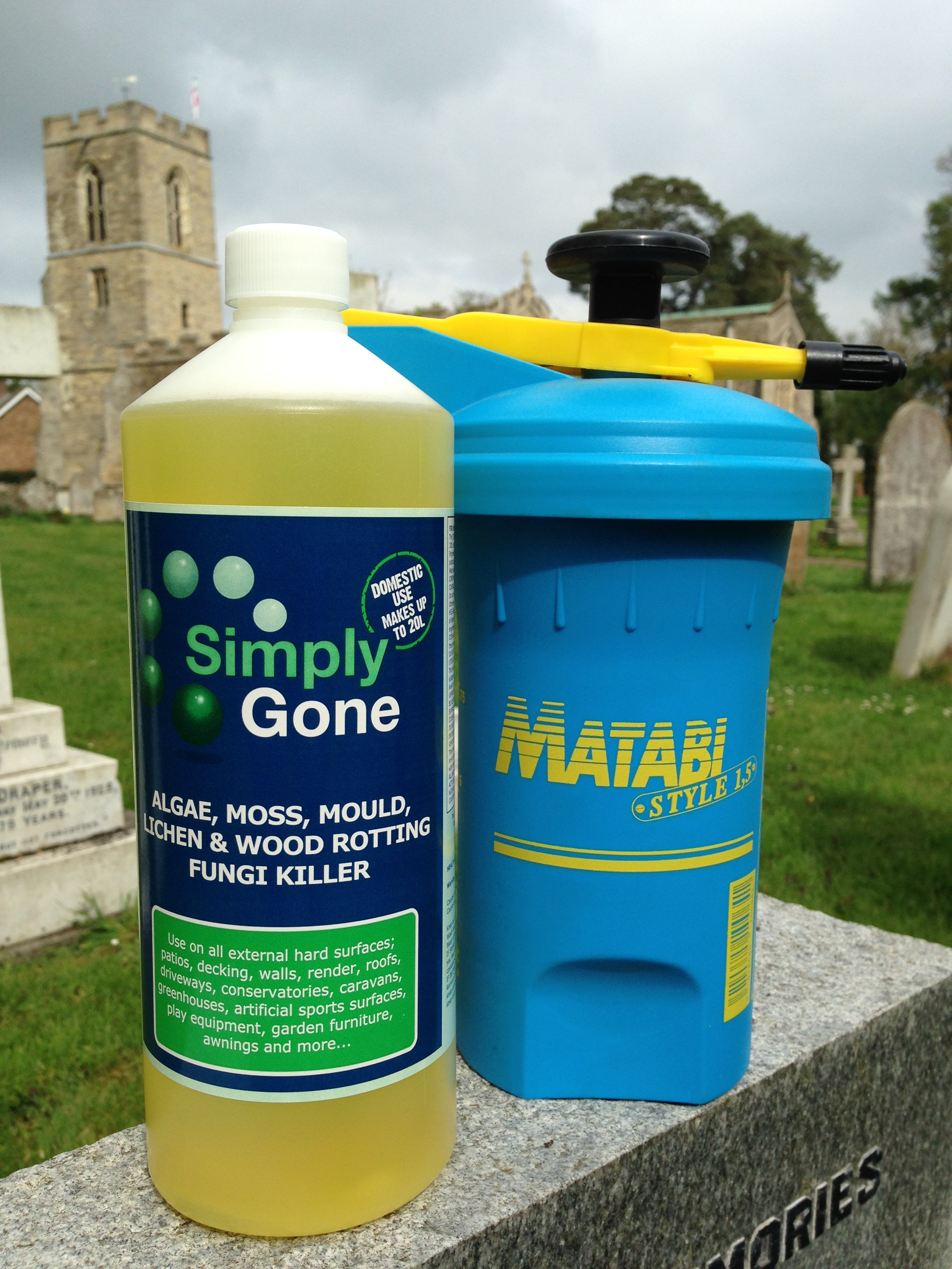 Headstone Cleaning Pack