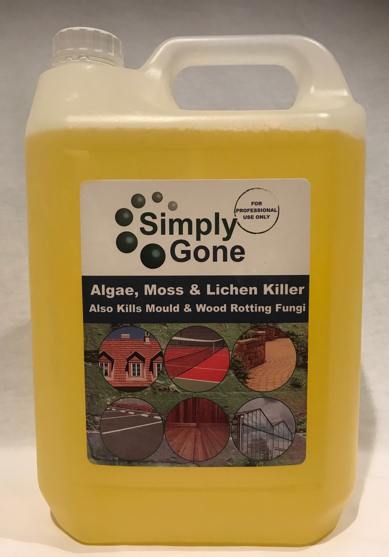 Simply Gone 5ltr Bottle - Professional Use (treats upto 500m²)