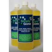 Simply Gone 3 x 1 ltr bottles - Domestic Use